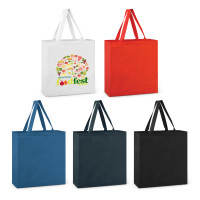 Carnaby Coloured Cotton Tote Bag