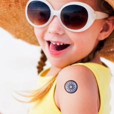Sunburn Alert Stickers