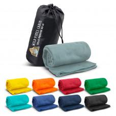 Glasgow Fleece Blanket in Carry Bag