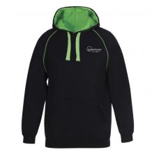 Premium Contrast Hoodie - Logo & NAME