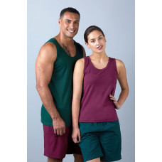 Unisex Breathable Singlet - One colour print Front & Back with Individualised name