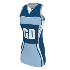 SUBLIMATED RACERBACK NETBALL DRESS