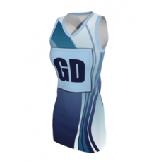 SUBLIMATED A LINE NETBALL DRESS
