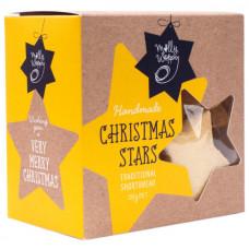 Festive stars shortbread  130g