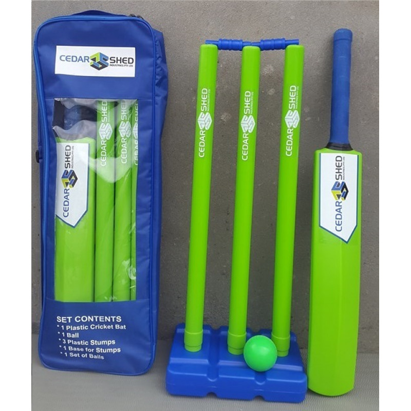 Custom Made Plastic Cricket Sets