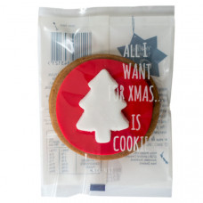 Christmas tree cookie -  6 pack