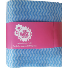 Blue 10 pack Dish Cloths