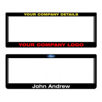Car Plate Surrounds