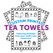 100% Cotton Customised Tea Towels