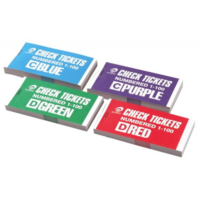 Raffle ticket books | Fundraise Factory